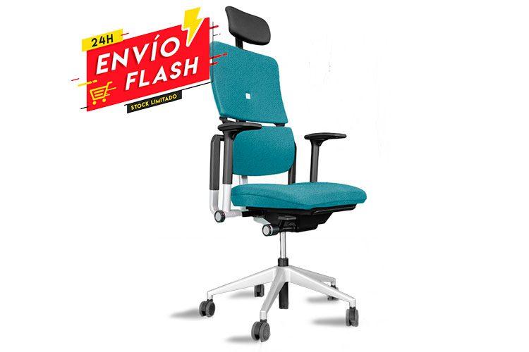 Steelcase Please 2 azul turquesa | Muebles de Oficina Spacio