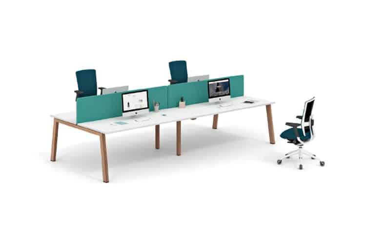 ACtiu vital 300 mesas dobles y cuadruples | Muebles de oficina Spacio