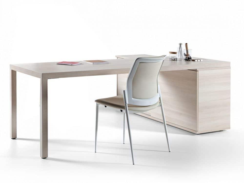 Mesa con apoyo archivo Actiu Prisma | Muebles de Oficina Spacio
