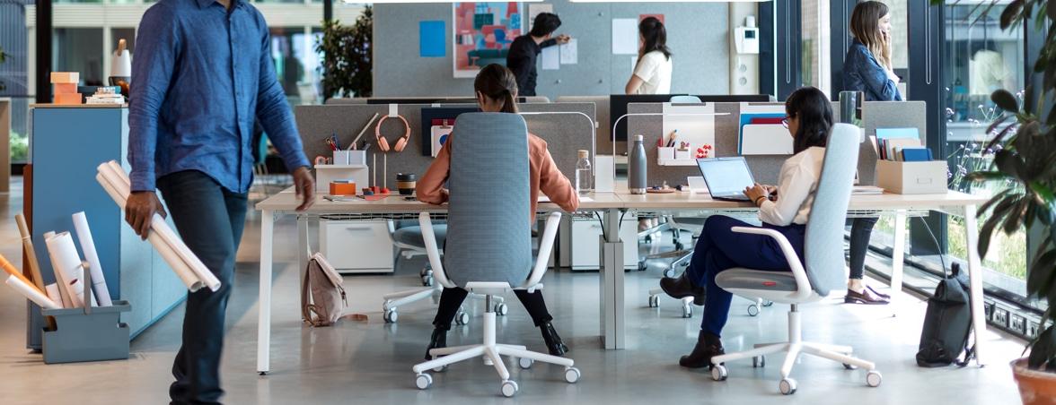 Comprar mobiliario de oficina para un trabajo productivo | Mobiliario de oficina Spacio
