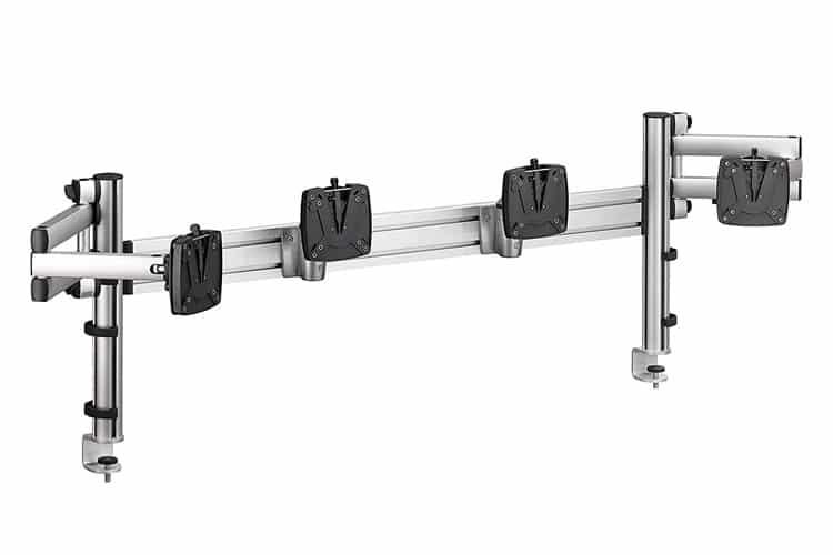 Soporte TSS Novus Control Center Set | Barra de herramientas TSS 120 con abrazaderas de sistema / ACCESORIOS DE oficina Spacio