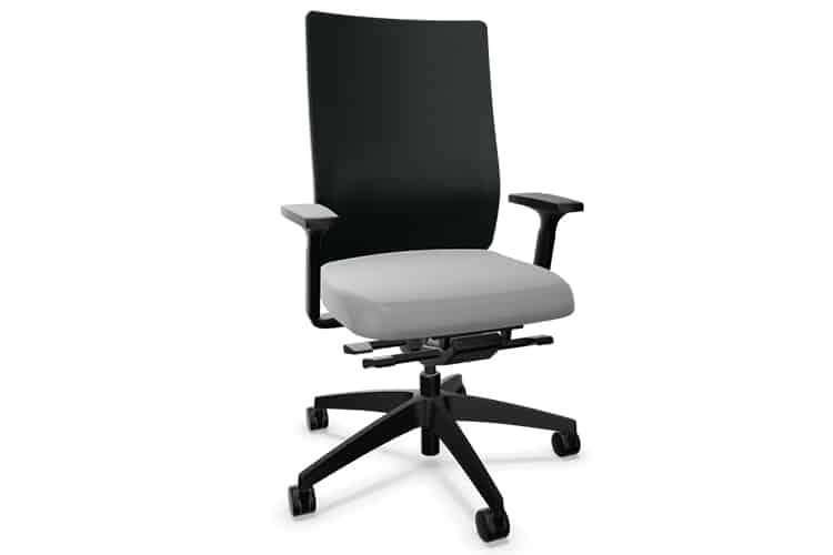Silla giratoria con malla gris claro DO SEDUS | Muebles de Oficina Spacio