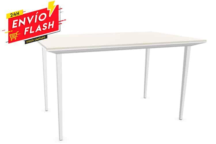 Foto listado mesa de escritorio Actiu Longo con entrega en 24h | Muebles de Oficina Spacio